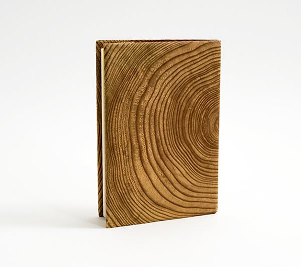 紙リサイクルを訴える・木目グッズのイメージ