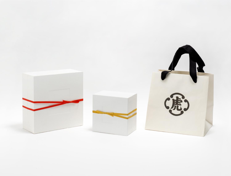 とらや東京ミッドタウン店 パッケージのイメージ