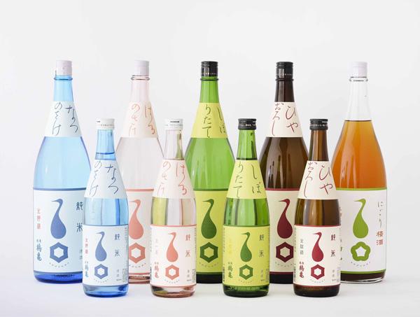 越後鶴亀 季節の酒のイメージ